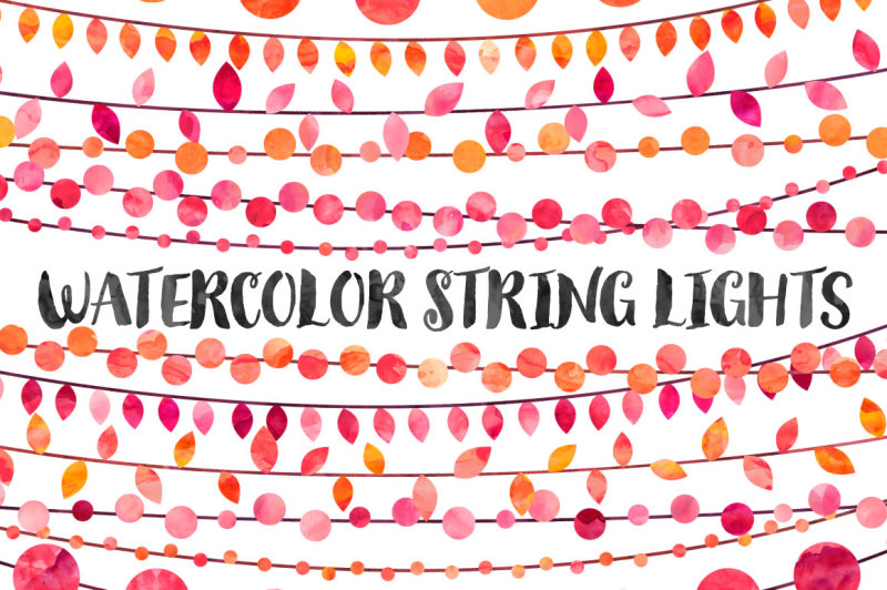 watercolor-string-lights