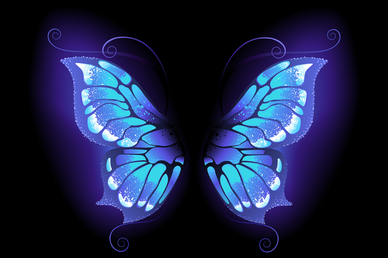 glowing-butterfly-wings