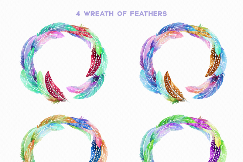 watercolor-cosmic-feathers