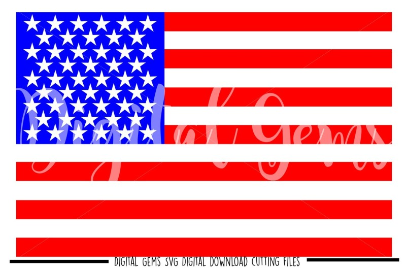 amercan-flag-svg-dxf-eps-png-files
