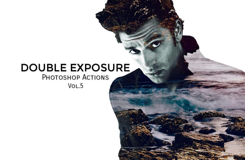 double-exposure-ps-actions-vol-5