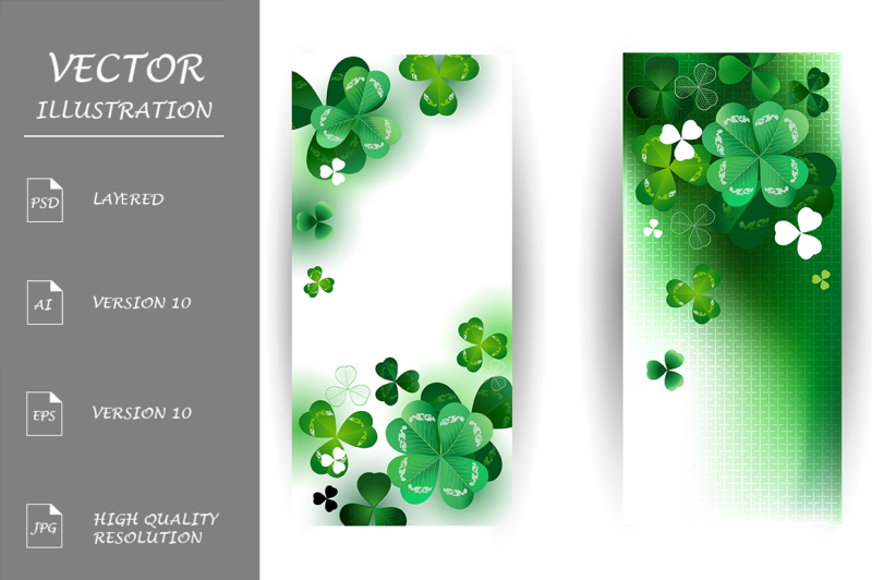 banners-with-shamrock