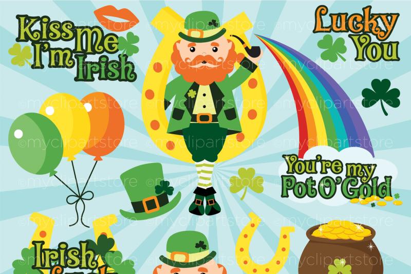st-patrick-s-lucky-irish-vector-clipart