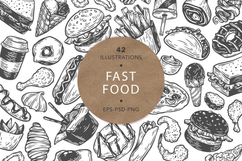 fast-food-vector-illustrations