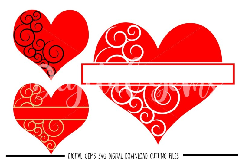 heart-svg-dxf-eps-png-files