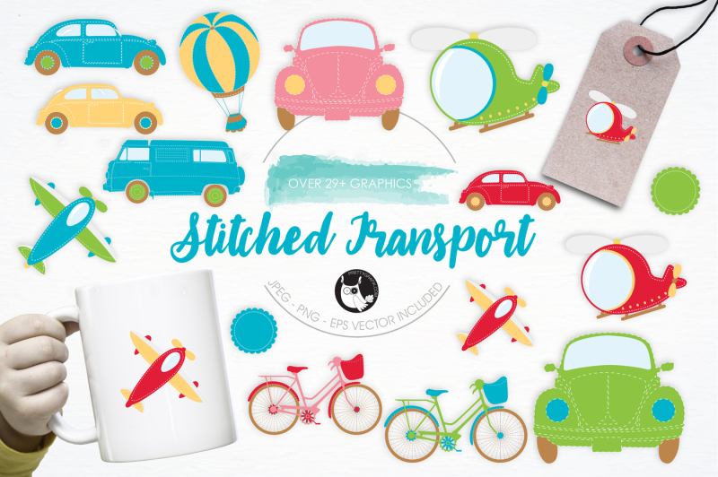 stitched-transport-graphics-and-illustrations