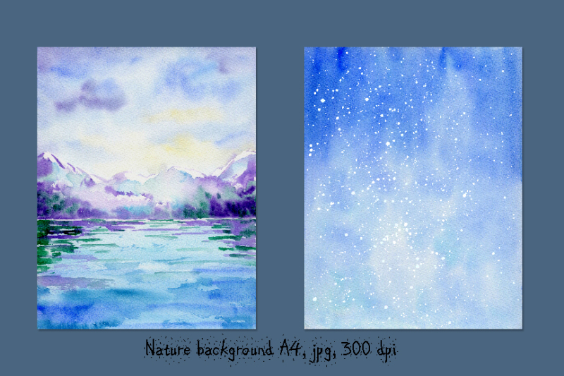 watercolor-background-let-it-snow