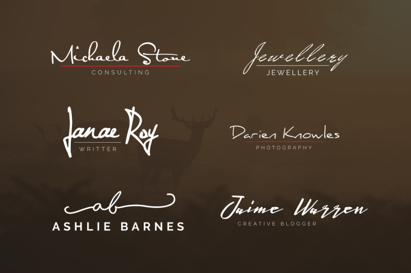 30-signature-logos-bundle