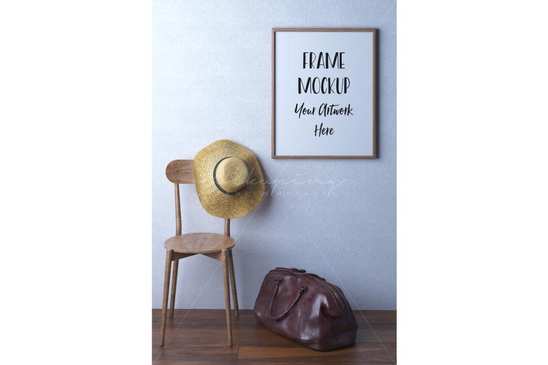 wood-frame-mockup-styled-stock-photography