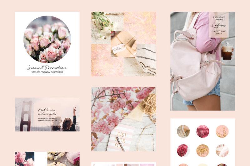 social-media-spring-templates