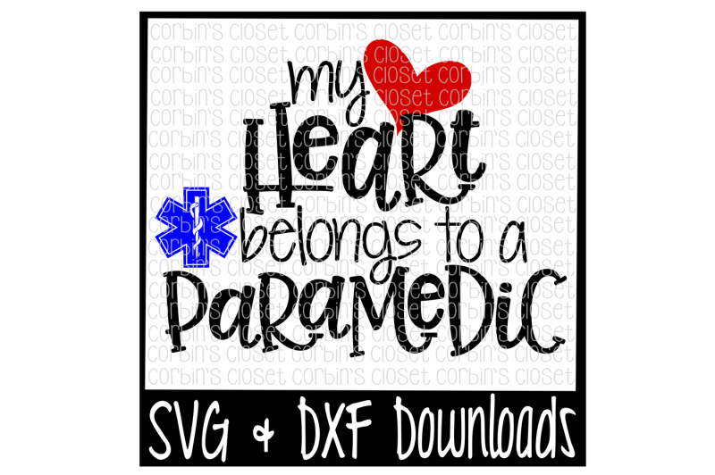 paramedic-svg-my-heart-belongs-to-a-paramedic-cut-file