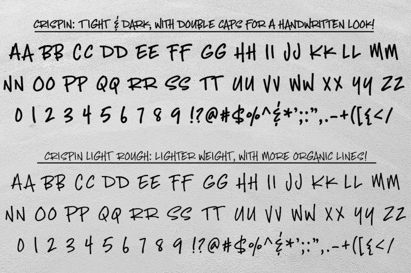 crispin-handwritten-marker-font