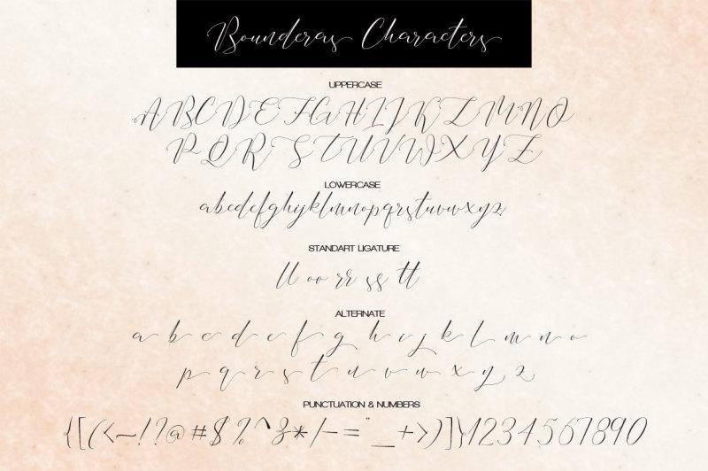 bounderas-script