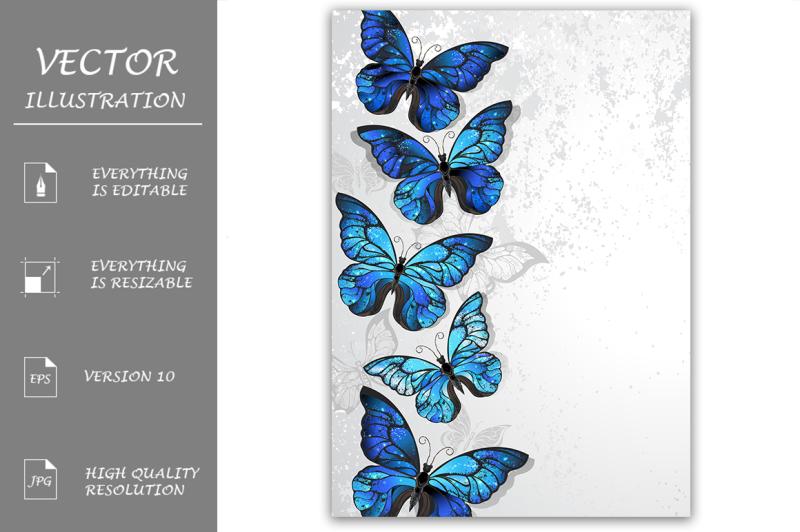 design-with-blue-butterflies-morpho