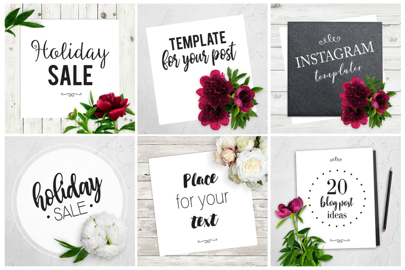 6-instagram-templates-with-peony