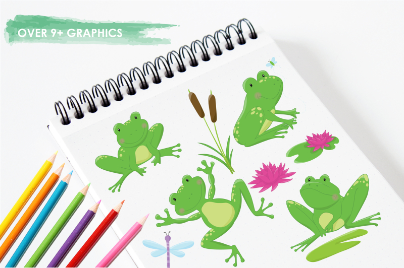 frog-pond-graphics-and-illustrations