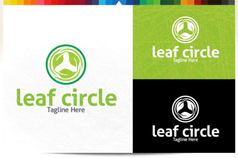 leaf-circle