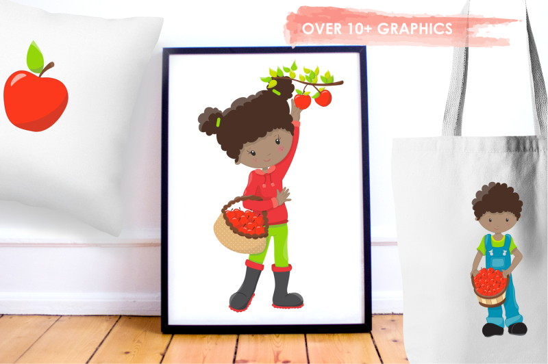 apple-time-fun-graphics-and-illustrations