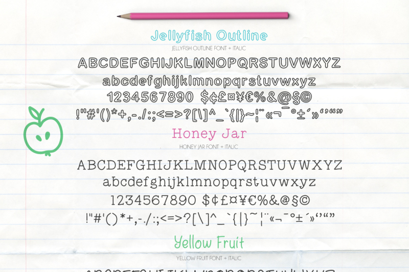 fontytotty-25-font-collection