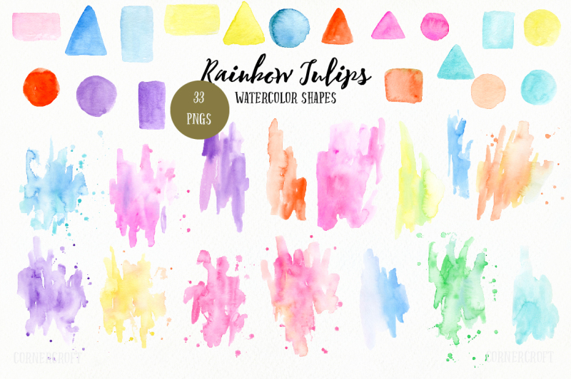 watercolor-design-kit-rainbow-tulips
