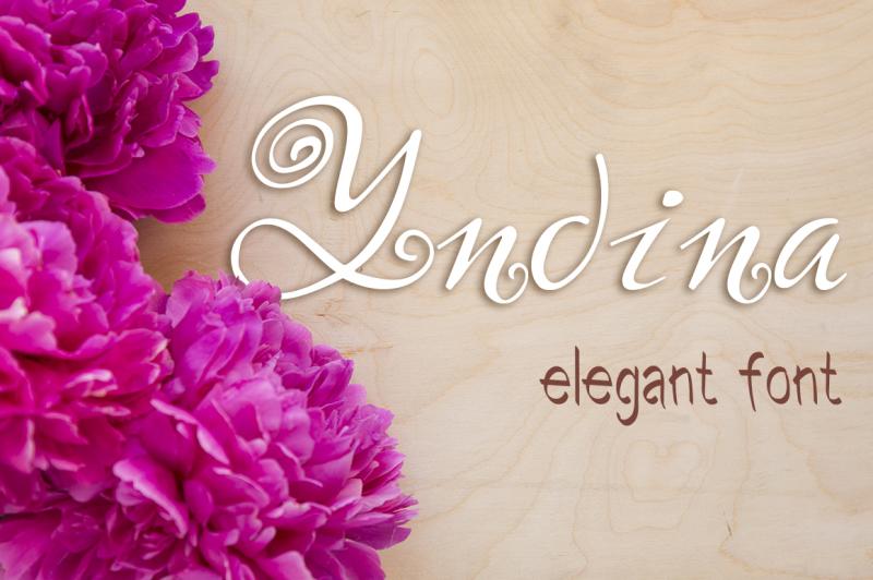 yndina-elegant-font