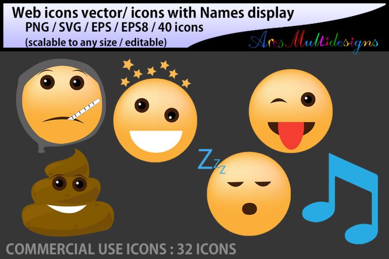 social-media-emoji-vector-icon-svg