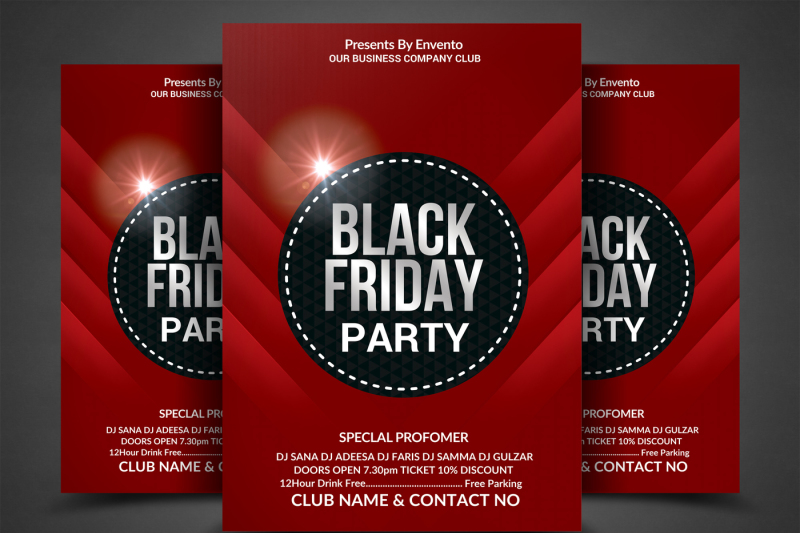 black-friday-party-flyer