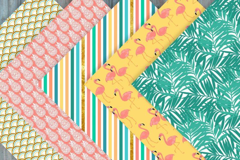 summer-digital-paper-patterns