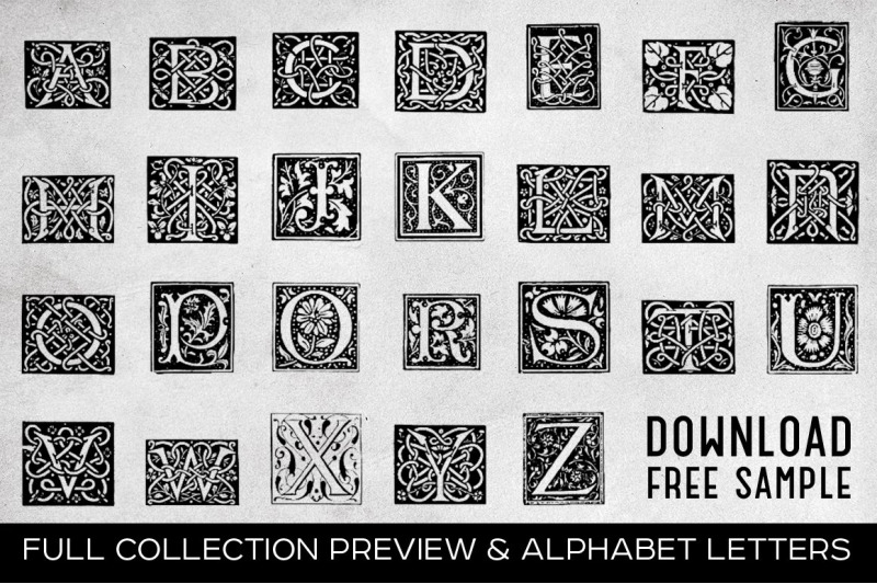 vintage-letters-collection