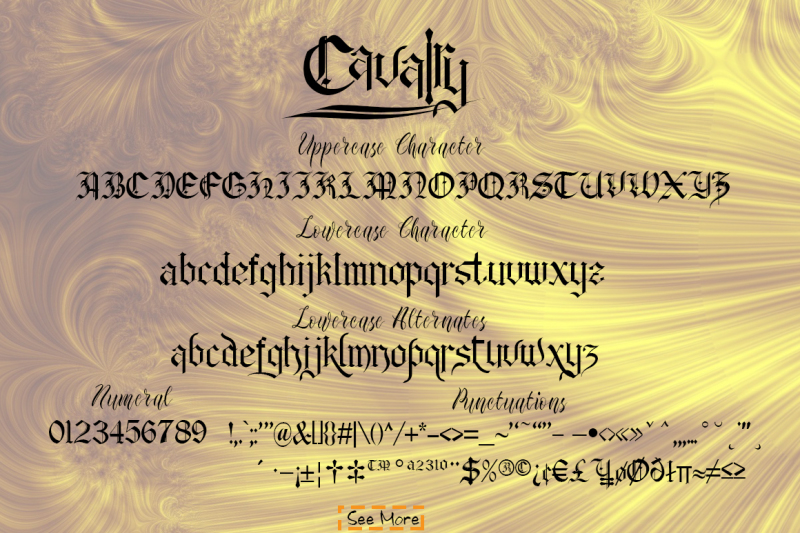 cavalry-blackletter