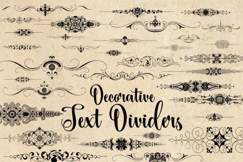 decorative-text-dividers