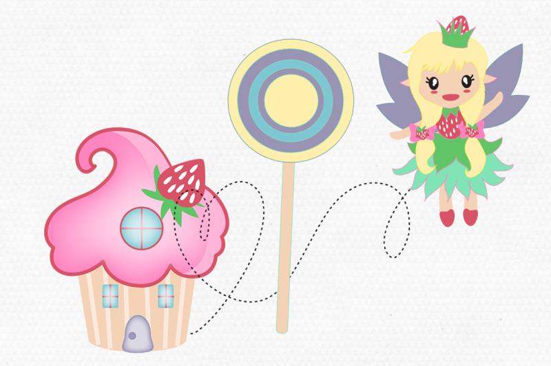 cute-cupcake-house-fairy-clipart-graphic-bundle