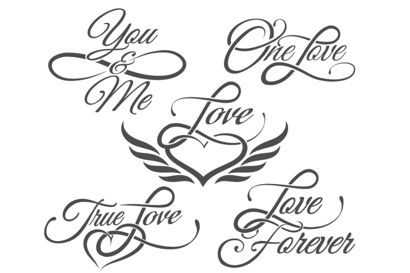 love-lettering-in-tattoo-style