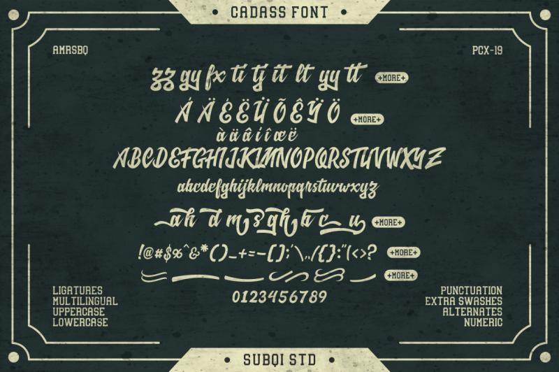 cadass-font-duo
