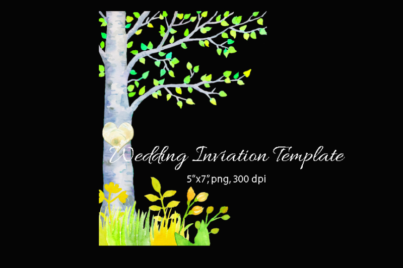 wedding-clipart-spring-birch-tree