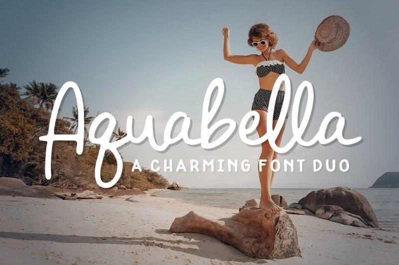 aquabella-font-duo