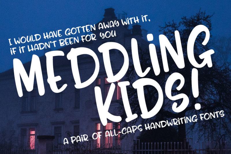 meddling-kids-handwriting-font