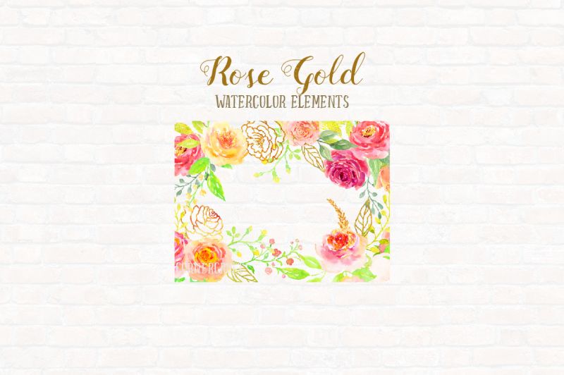 watercolor-design-kit-rose-gold