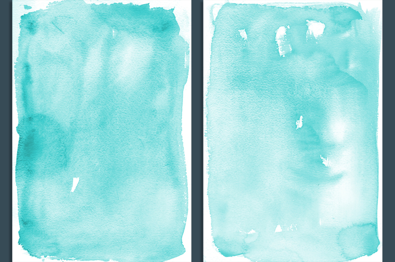 teal-ombre-watercolor-backgrounds