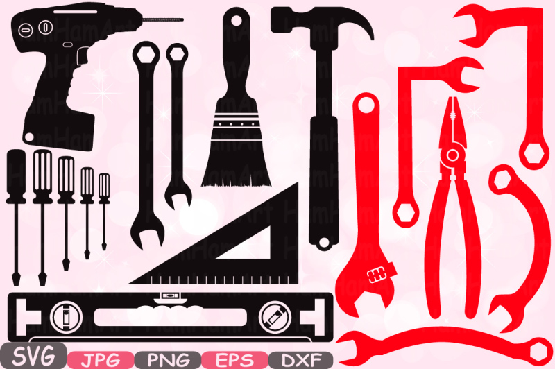 mechanic-tools-silhouette-svg-cutting-files-clipart-handyman-color-svg-hammer-tool-designs-science-tools-svg-bundle-cricut-vinyl-cameo-648s