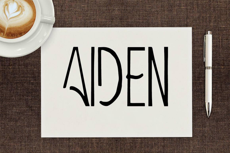 aiden-art-deco-display-font