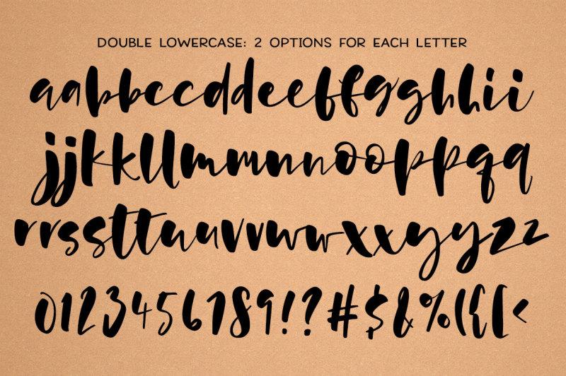 hallsey-lowercase-script-font