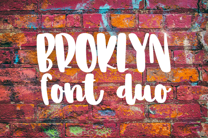 broklyn-font-duo