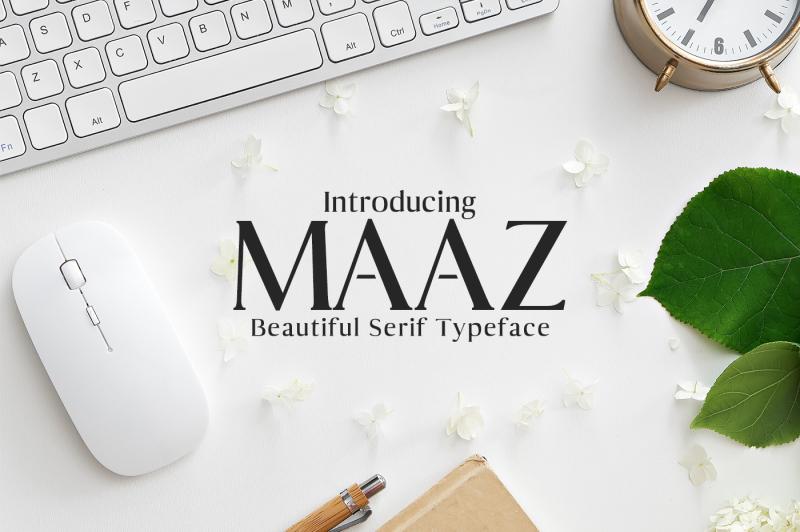 maaz-serif-6-fonts-family-pack