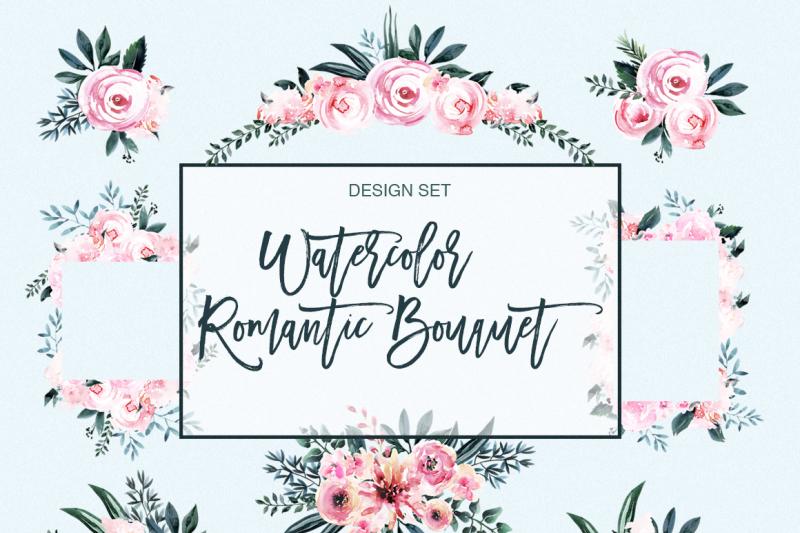 watercolor-romantic-flowers