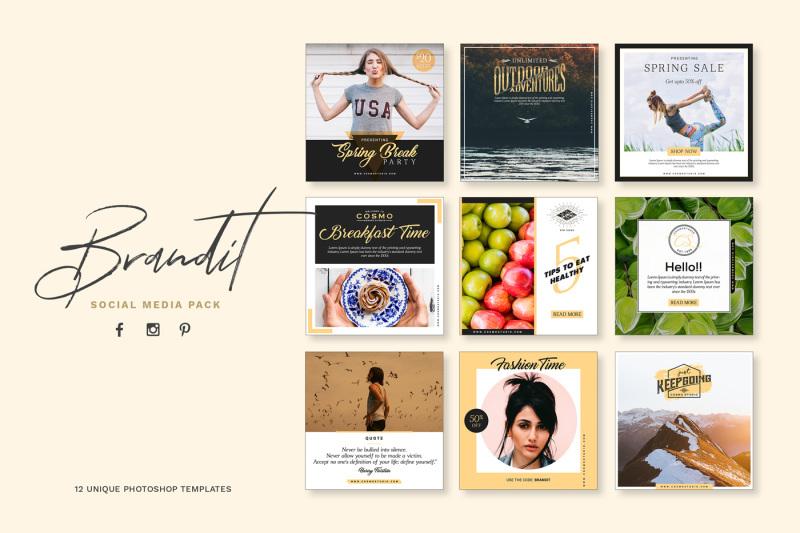 brandit-social-media-pack