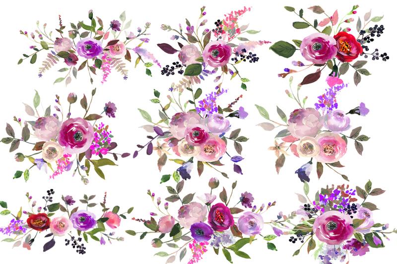 purple-watercolor-flowers-clipart