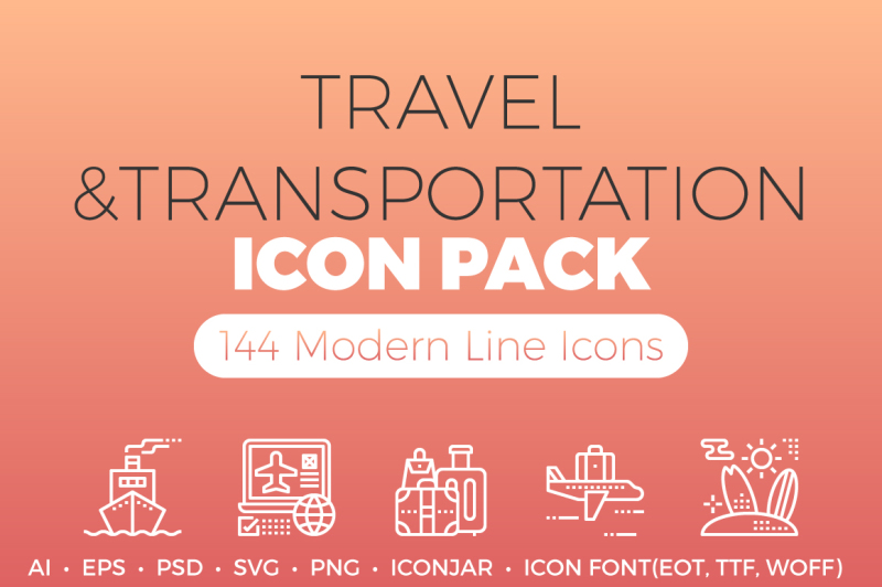 travel-and-transportation-icon-pack