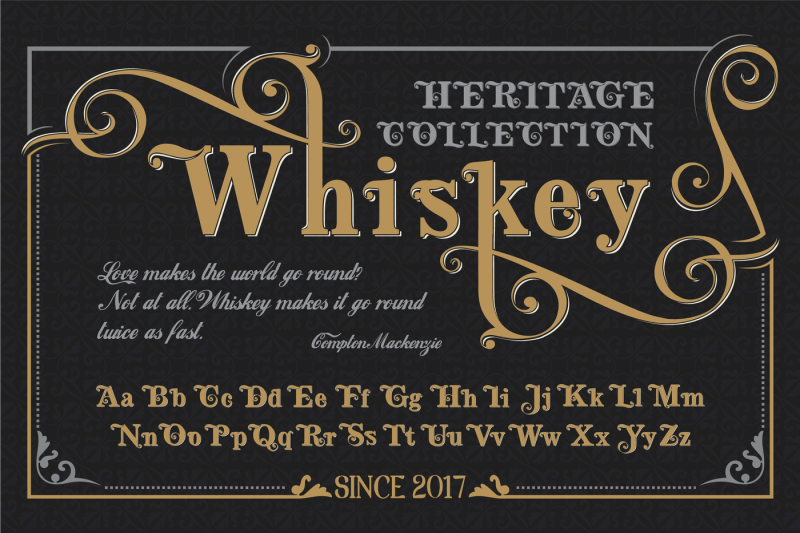 heritage-collection-whiskey-font-vintage-vector-typeface