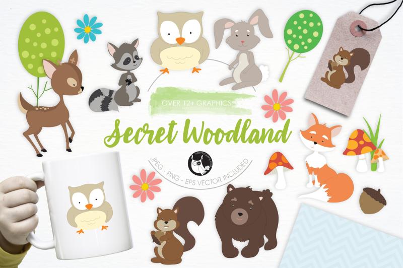 secret-woodland-graphics-and-illustrations